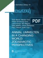 ANIMAL UMWELTEN IN A CHANGING WORLD