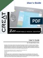Creative Portable Media Center English