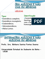 Interações Alélicas e gênicas - 2018.1 sem exercicios.pptx