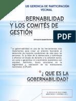 La Gobernabilidad y Los Comités de Gestión