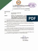 Memo Martial Law Instructions No. 1_R9 to R13