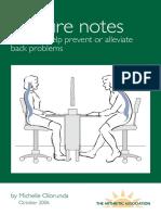 Posture Notes 8