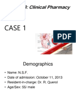 Sample Clinical Pharmacy Case