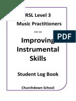 RSL Level 3 Student Logbook UNIT 385.docx