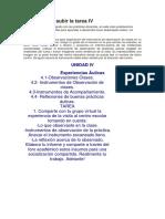 Ejemplo de Ficha de Observacion en Visita a Centros