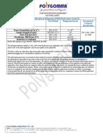 Polygomma EPDM Pond Liner Specs en 13361 V3