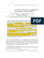 Bakker, A. B., Demerouti, E., & Schaufeli, W. B. (2003b). Dual Processes at Work