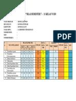 Rekap Nilai Sd Kelas Vi 2018 (Laurensius Tenggengan)