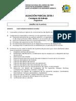 Evaluacion Parcial Diseño Plantas