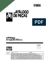 Upload Produto 24 Catalogo Xtz250'09 (4b43) Brasil Revisão03
