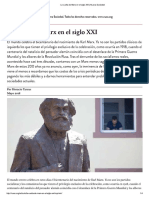 Tarcus. La Vuelta de Marx en El Siglo XXI _ Nueva Sociedad
