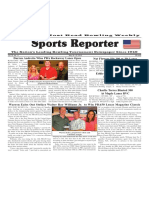 May 16 - 22, 2018  Sports Reporter