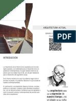 Compendio Arquitectura Actual Gerardo Corres Zenteno