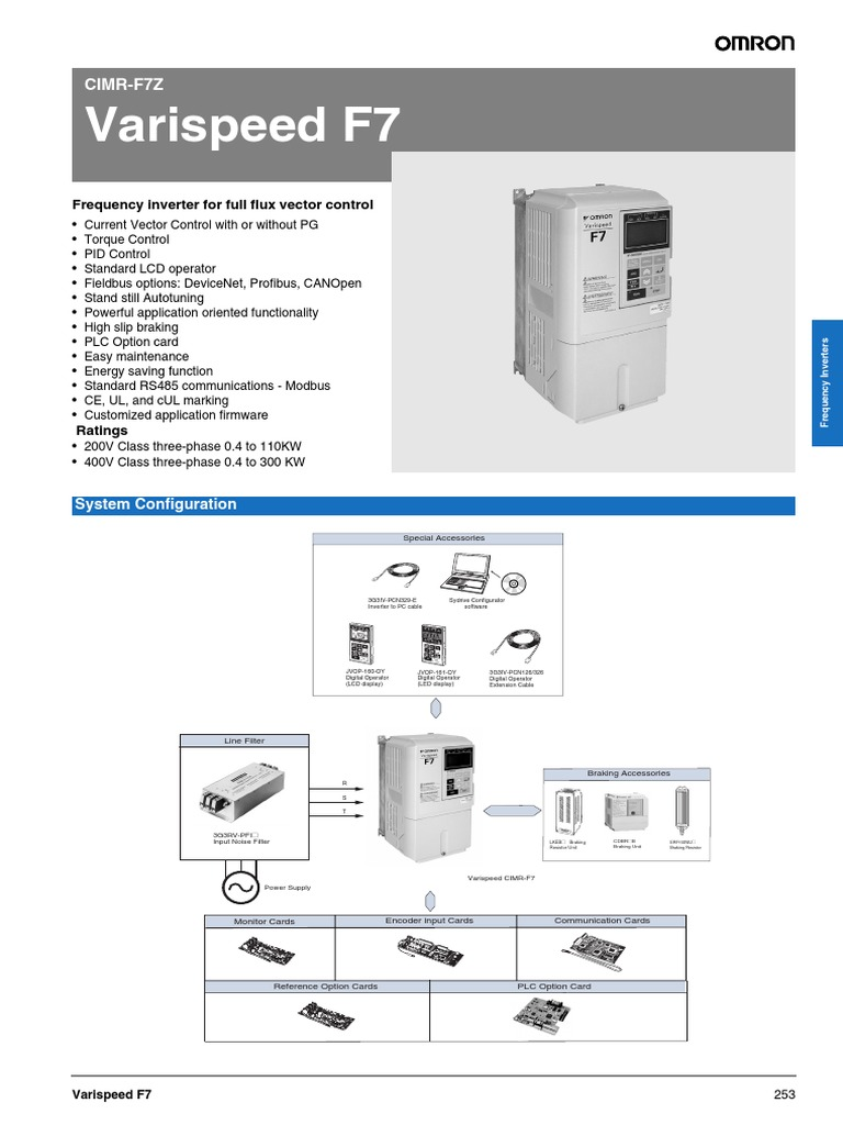 Omron F7 Series Power Inverter Electrical Engineering Energy Saver Circuit Diagrams On Wiring Diagram Plc Control