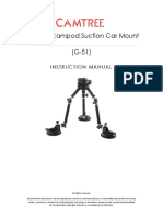 Camtree Gripper Campod Suction Car Mount G 51