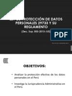 Semana 05 Ley de Protección de Datos Personales