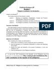 Political Science 2F Module I