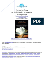 The Actinides in Homeopathy Patricia Le Roux
