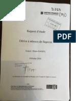 Rapport d'étude dérive à rebours de flaperon - Pierre Daniel Report 8 Feb 2016 (Meteo France)