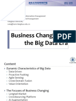 WEI Qiang_Business Changing in the Big Data Era