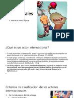 Actores Internacionales