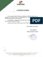 Attestation Reference Sonasid