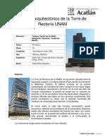Análisis Arquitectónico de La Torre de Rectoría UNAM