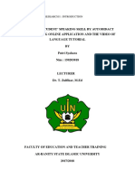 English Language Research i Putsya