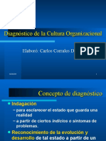 Diagnostico de la cultura organizacional
