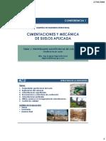 Clase 1 - Propiedades Geotecnicas Del Suelo