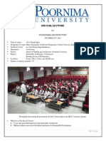 Special Lecture by Prof Neeraj Gupta