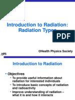 Physician Intro Rad Types