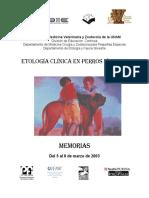 Etologia Clinica en Perros y Gatos