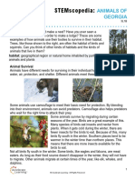 animal habitats of georgia study guide