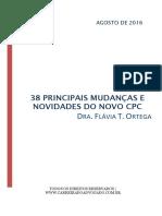 E Book 38 Principais Mudanças e Novidades Do Novo CPC