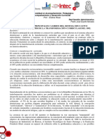 Cambios de La Transformacion Curricular 1992 - Informe - Pedro Duarte