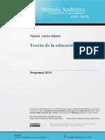 Teoría de la Educación Física 3 Universidad de La Plata