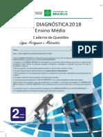 Prova Diagnostica GDF 2018