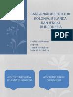 Arsitektur Kolonial Belanda Dan Jengki Di Indonesia