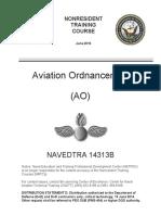 NAVEDTRA 14313B - Aviation Ordnanceman (AO) Jun2016