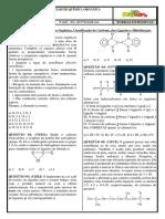 Lista 01 - Introdução a Química Orgânica, Classificação Do Carbono, Ligações e Hibridização.