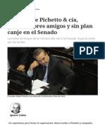 La Visita de Pichetto & Cía, Gobernadores Amigos y Sin Plan Canje en El Senado