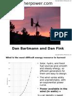 Wind Generator Fabrication Pics