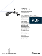 Historia 4º Eso Guia y Recursos Del Profesor Santillana