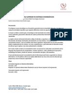 2016 - Sistemas Informáticos