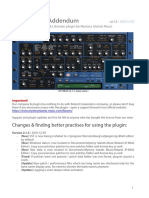Roland JP 80x0 User Manual Addendum