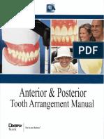 69279865 Dentsply Tooth Arrangement Manual