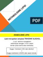 7 Metabolisme LIPID