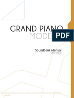Grand Piano Model d Manual