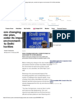 Before Changing Master Plan, Consider Its Impact on Environment_ HC to Delhi Authorities
